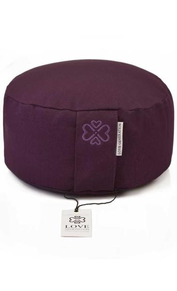 Love Generation Meditation Cushion Deepest Purple