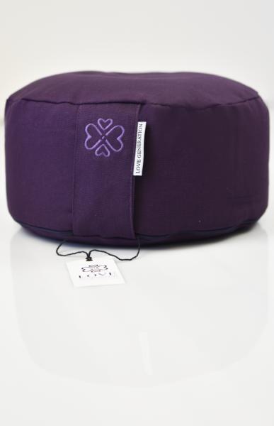 Love Generation Meditation Cushion Deepest Purple - 3