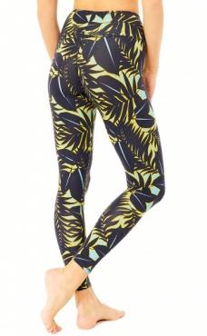 natural Printed leggings Moonson Palms