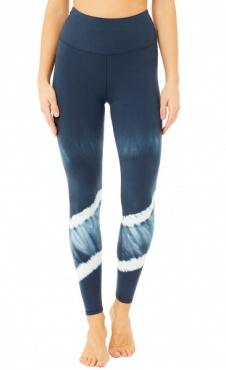 Mandala Tie Dye Legging - Eclipse