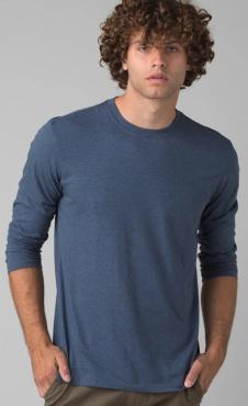 PrAna Longsleeve Shirt - Denim Heather
