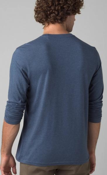 PrAna Longsleeve Shirt - Denim Heather - 1