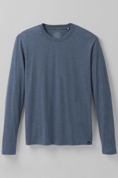 PrAna Longsleeve Shirt - Denim Heather - 2