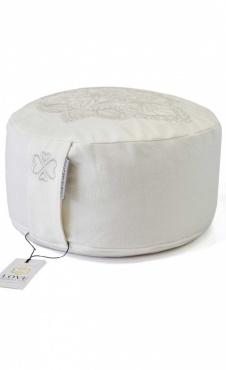 Meditation Cushion Lotus Offwhite