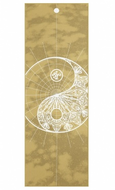 Yindala Yogitoes Yoga Towel Gold