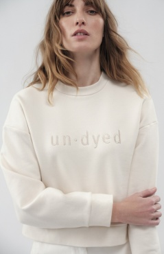 Un-Dyed Boxy Sweater