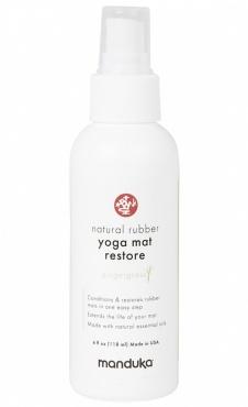 Manduka Natural Rubber Yoga Mat Restore Small