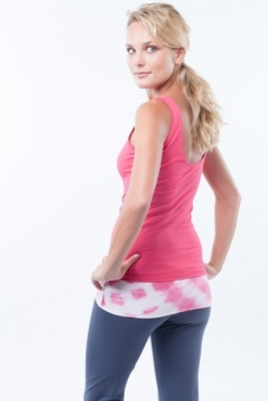 Low Back Yoga Top - Candy