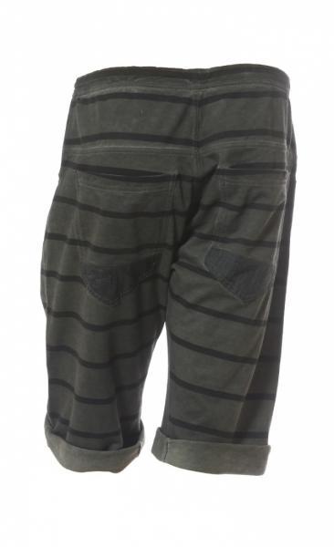 Asana Yoga Shorts - Smoke Stripes - 1