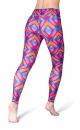 Heart Printed Leggings - 1