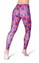 Heart Printed Leggings - 1