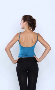 Low back Tank - Teal