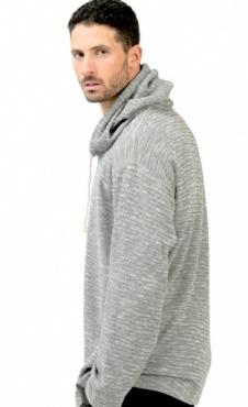 Padawan Hoodie - Grey Marl