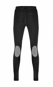 Mens Yoga Legs - Nero