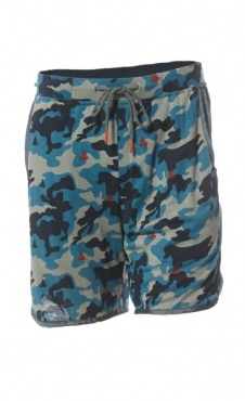 Active Shorts - Camo Red