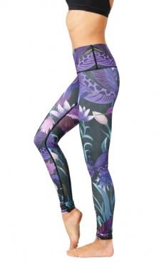 Yoga Leggings Dragonfly - Orchid