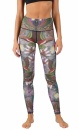 Yoga Leggings Dragonfly - Earth - 2