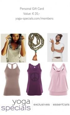 Yoga Specials Cadeaubon - 20