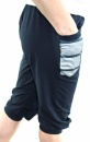 Sun yoga Pant - Navy Blue /Stripes - 2