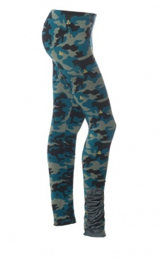 Wind Leggings - Camo-Gold