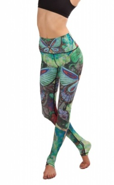 Yoga Leggings Butterfly