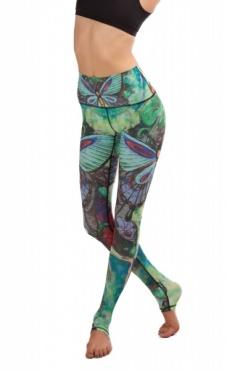 Yoga Leggings Butterfly