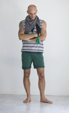 Active Yoga Shorts - Forest