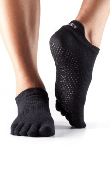 Toesox Teensokken Full Toe - Black
